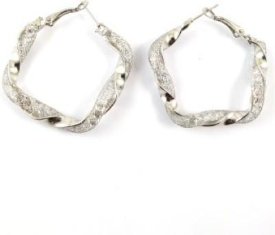 Ammvi Curvy For Women Alloy Hoop Earring