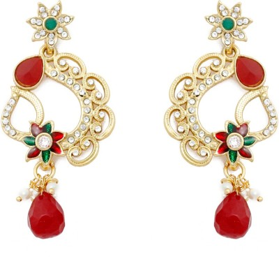 SBS Sparkiling Alloy Chandelier Earring