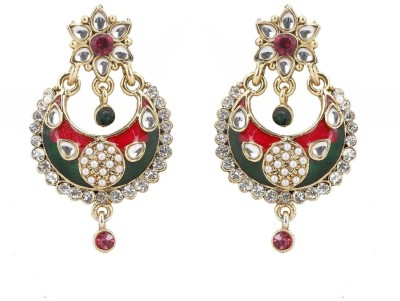 Scrunchh Alloy Chandelier Earring at flipkart