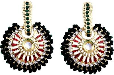 MadeinMyIndia Ethnic Charm Copper Chandbali Earring