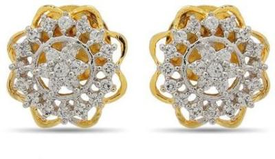 Luxor Designer Spark Brass Stud Earring