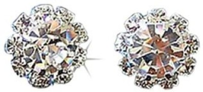Aadalika Crystal Flower Crystal Alloy Stud Earring