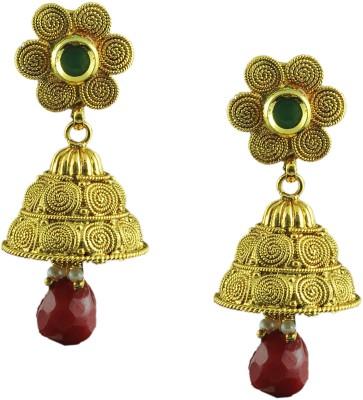 Maalyaa New Collections Brass, Copper Jhumki Earring