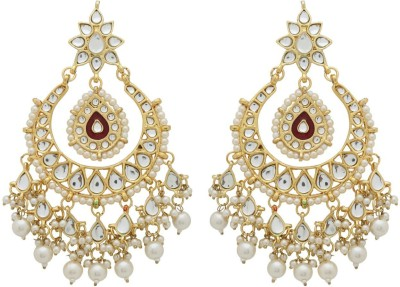 Sale Funda Designer earrings er0028 Crystal, Pearl, Zircon Alloy Chandelier Earring