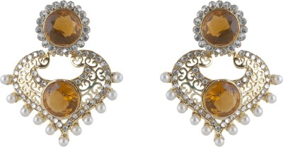 Inaya Everyday::Religious::Wedding & Engagement Brass Drop Earring