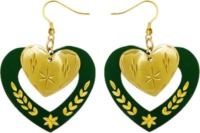 Kenway Retail Happy Beats Brass Dangle Earring