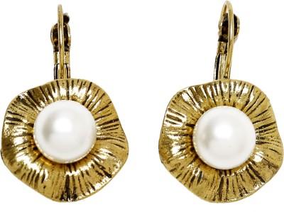 UV Instyle Women's Golden Danglers Alloy Clip-on Earring