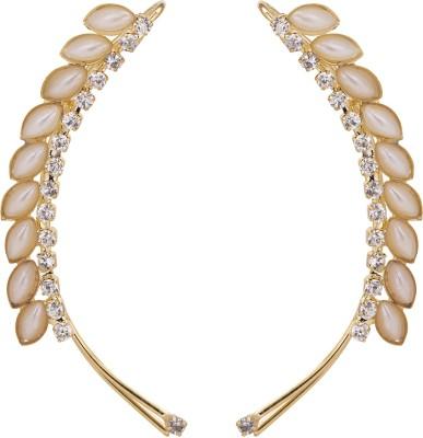 Rashi Jewellery Trendy Cubic Zirconia Alloy Cuff Earring