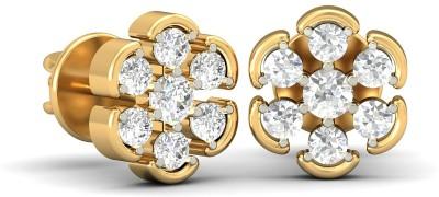 WearYourShine by PCJ The Aneka Diamond Yellow Gold 18kt Diamond Stud Earring