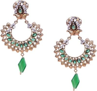 Buyclues SSJ6081 Brass Earring Set