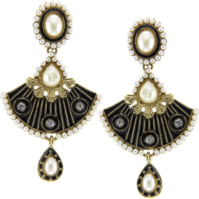 Kaizer Jewelry Parampara Style Diva Alloy Chandelier Earring