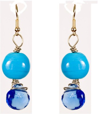 Retaaz Bleu Ardour Acrylic, Steel Dangle Earring