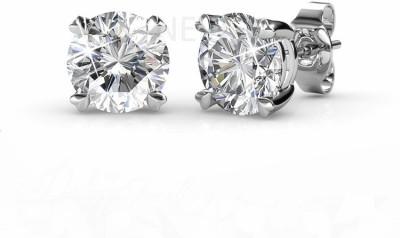 Nevi Elegant Crystal, Swarovski Crystal Metal, Crystal, Brass Stud Earring