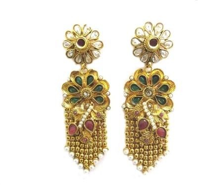 Keva Art Jewellery Alloy Chandelier Earring