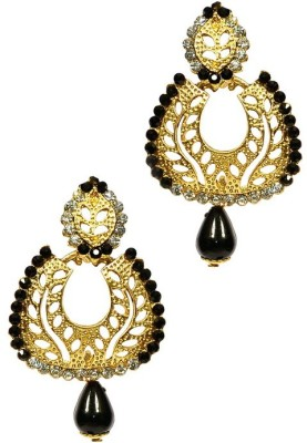 Shine My Life Moment Alloy Chandbali Earring
