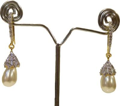 Aakhya EAR5 Diamond Rose Gold Drop Earring