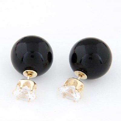 The Sparkle Connection Sparkle Bomb Alloy Stud Earring