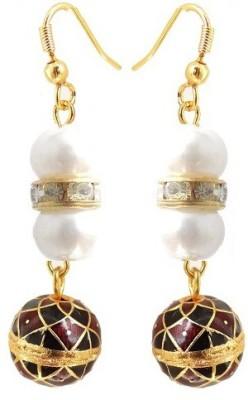 Kalaplanet Thewa Hanging Ball Design Alloy Dangle Earring