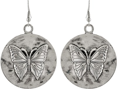 Subharpit Butterfly Desinge Metal Dangle Earring