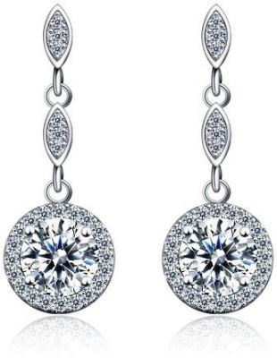 Panriya Spark Sterling Silver Drop Earring