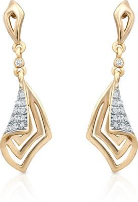 Oviya Crystal Alloy, Brass Drop Earring
