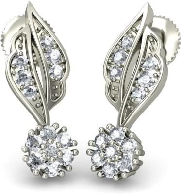 Joyra Attractive Swarovski Zirconia Sterling Silver Drop Earring