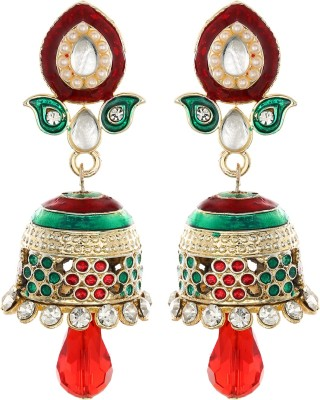 Crunchy Fashion Style Diva Alloy Jhumki Earring