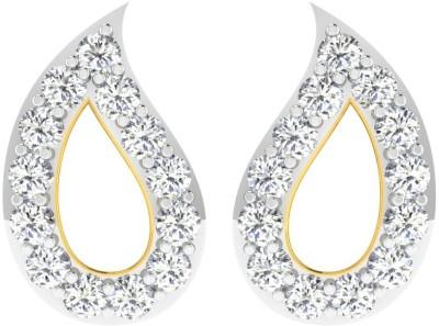 Sparkles BRT9181D Yellow Gold 18kt Diamond Stud Earring