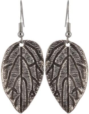 Subharpit Fresh Stylish Leaf Metal Dangle Earring