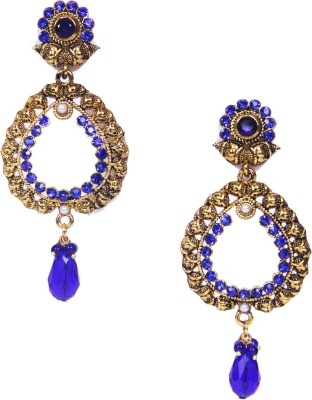 Traditsiya Designer Plated Alloy Drop Earring