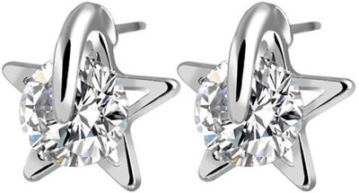 Ruvee Star from the South Pole Zircon Alloy Stud Earring