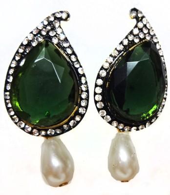 SB Fashions Brass Drop Earring