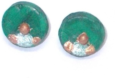 NKL Creations New Terracotta Stud Earring