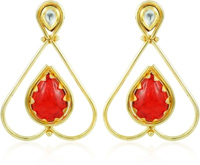 BoBell Indo- Tribe Stone Copper Drop Earring
