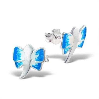 Maayin Dragon Fly Sterling Silver Stud Earring