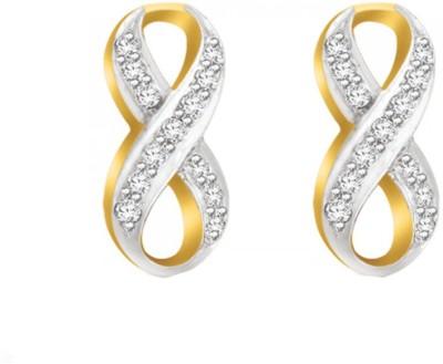 Sparkles T1847D Yellow Gold 18kt Diamond Stud Earring