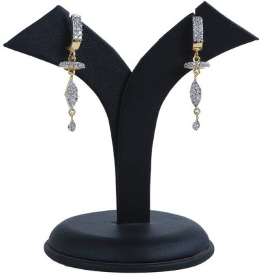Ambitione Dazzling Golden Alloy Drop Earring