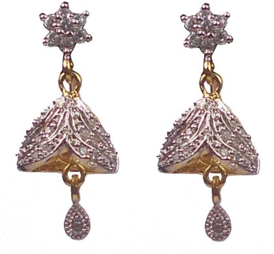 Rejewel Long Earring Alloy Jhumki Earring