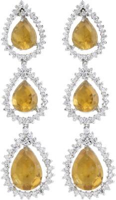 Dilan Jewels EAR000053 Zircon Sterling Silver Drop Earring