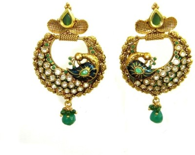 Keva Art Jewellery Alloy Chandbali Earring
