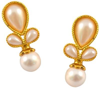 Vastradi Jewels Brass, Alloy, Metal Stud Earring