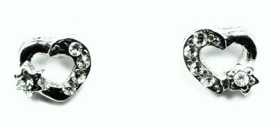 Kanishq RHODIUM PLATED Alloy Stud Earring