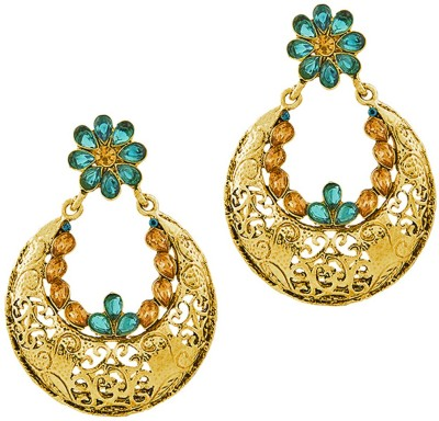 REEVA FASHION JEWELLERY CHANDLIERS Zinc Chandbali Earring