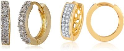 Shubh 4u Beautiful American Diamond Alloy Earring Set