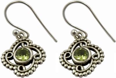 Miska Silver Ethnic Silver Dangle Earring