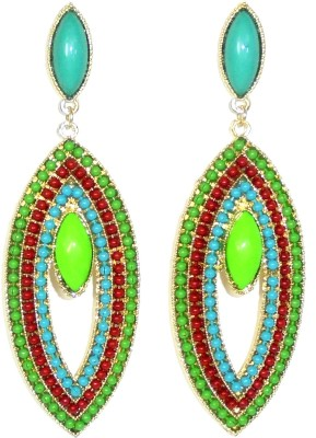 Adimani Filum Alloy Drop Earring