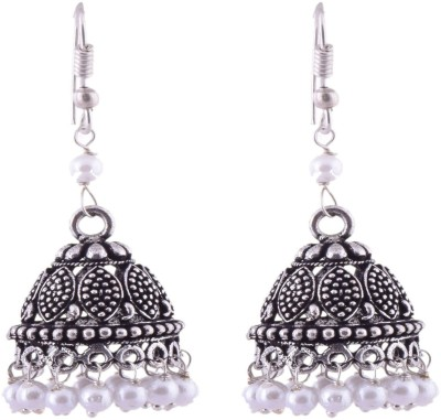 Ganapathy Gems 2090 Metal Jhumki Earring