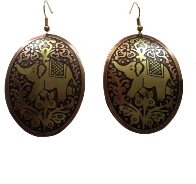 Priyangi Fashion Era Animal Jewels Brass Dangle Earring