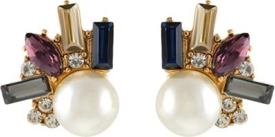 Aaishwarya Trendy Crystal Alloy Stud Earring