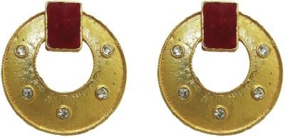 Aarnaa Ruby Pota For Women Alloy Drop Earring